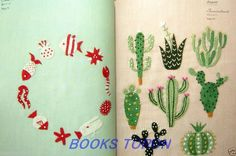Brand New! Yumiko Higuchi's 12 Months Embroidery /Japanese Craft Pattern Book