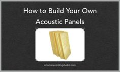 In this Acoustic Panels DIY tutorial, learn all the materials, tools, and steps to build custom acoustic panels for your Home Recording Studio.