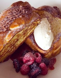 @Four Seasons Hotel St. Louis' Stuffed Challah French Toast is the best thing since... French Toast! Click through for the recipe.