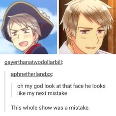 U right but it was a glorious mistake that we all love