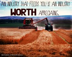 U.S. agricultural exports generate more than $100 billion annually in business activity throughout the U.S. economy and provide jobs for nearly 1 million workers. #agriculture
