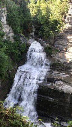 Adirondack Hiking – Enjoy the Great Outdoors! Beautiful Photos Of Nature, Nature Photos, Beautiful Places, Day Trips In Pa, Lucifer's Fall, Rainbow Waterfall, Les Cascades, Beautiful Waterfalls, Lake Tahoe