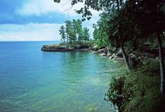 This One Destination Has The Absolute Bluest Water In Wisconsin -- It is located on Madeline Island, the largest of the Apostle Islands.