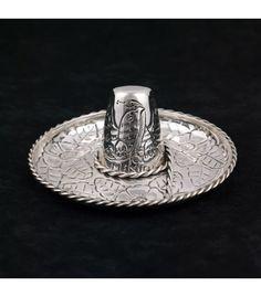 Sombrero mexicano en plata de 925 milésimas - Subastas Regent's   Joyas y Antigüedades