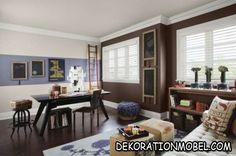 im wohnzimmer eine graue wand mit weiß kombinieren | king & queen, Hause deko