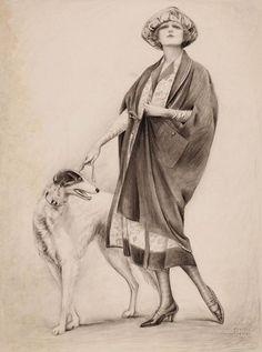 Charles Gates Sheldon ©  (American artist 1889-1960)