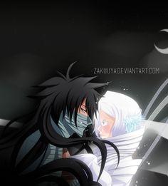 Black Sun and White Moon by Zakuuya.deviantart.com on @DeviantArt  Ichigo Kurosaki and Rukia Kuchiki from Bleach | IchiRuki | Manga - Anime |