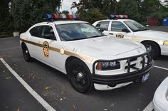 """Pennsylvania State Police: PA State Police test / evaluate an Ibis Tek """"Lightweight Front Protective Bumper"""" (LFPB) on a Dodge Charger"""