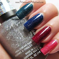 My Picks From the L.A. Girl 3D Effects Holographic Collection...on Princessly Polished. ♥
