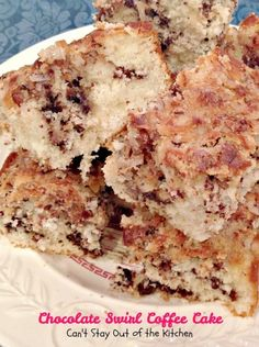 Chocolate Swirl Coffee Cake - Recipe Pix 21 043