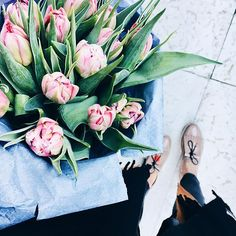 Cause what would a beautiful spring day be without some flower shopping.. #kristjaanablossoms