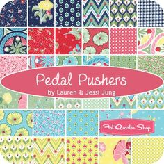 Pedal Pushers Fat Quarter BundleLauren & Jessi Jung for Moda Fabrics | Fat Quarter Shop