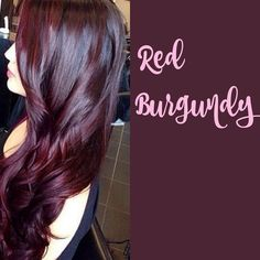 Burgundy hair #darkhair #haircolour