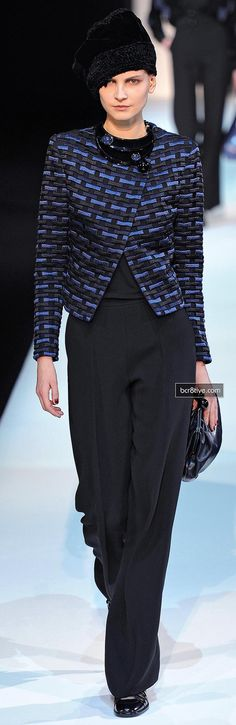 Giorgio Armani Fall Winter 2013-14 Collection
