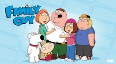 """Znany serial animowany przedstawiający losy fikcyjnej amerykańskiej rodziny Griffinów.  Tak jak podobne  produkcje typu """"South Park"""" czy """"The Simpsons"""" pomysł tego serialu opiera się na przedstawianiu za pomocą humorystycznej konwencji różnych kwestii społecznych, kulturowych, politycznych, moralnych oraz religijnych.  Cechą charakterystyczną """"Family Guy"""" jest też jawne nawiązywanie do innych znanych filmów i seriali."""