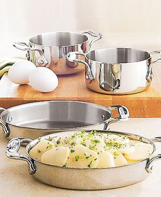 All-Clad Stainless Steel Oval Bakers