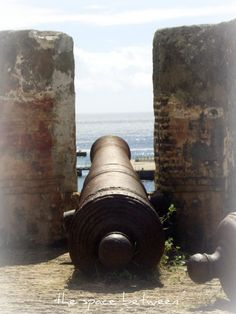fort canon in curacao