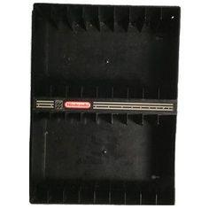 Vintage Vertical Wall Rack Holds 18 Nintendo NES Games