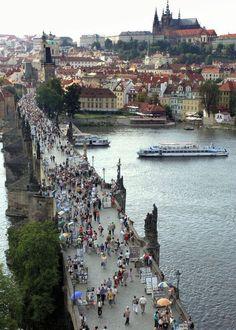 Charles Bridge.. Prague..Czech Republic