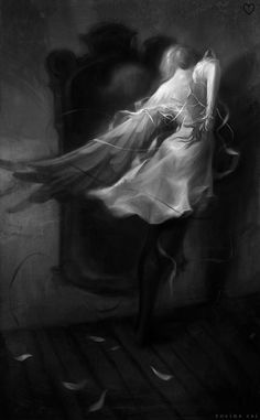 """zero-void: """"'Forever entwined, yet forever enthroned Hope dies painless with me' Rome - Hope Dies Painless Art by Rovina Cai more edits here. """""""