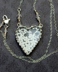 lace. heart
