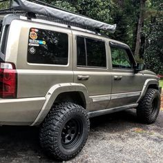 A short story behind this jeep is that I bought it right after high school on an impulse. Not until college did I become acquainted with overlanding, I have. Wheels And Tires, Jeep Commander Lifted, Old Jeep, Custom Jeep, Jeep Patriot, Motor Car, Jeep Wranglers, Bike, Automobile