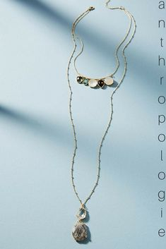 Finely Layered Jewel Necklace from Anthropologie #anthro#jewelry#fashion#ad