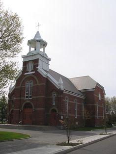 Saint-Hyacinthe (église Saint-Thomas-d'Aquin), Québec, Canada (45.648898, -72.991929)