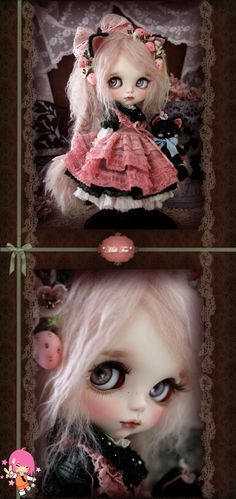 Custom Blythe Dolls: Milk Tea's Himeichigo - A Rinkya Blog