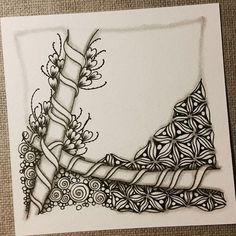 Zentangle 041116. #zentangle #zendoodle #doodle #doodleart #drawing #draw…