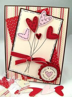 Sneak Peek: Heart to Heart Bouquet - Stampin' Up! Demonstrator - Mary Fish, Stampin' Pretty Blog, Stampin' Up! Card Ideas & Tutorials