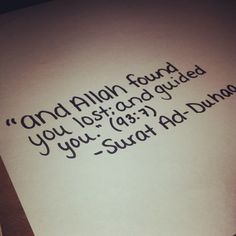 uncensoredhijabii:    The Holy Quran has the most powerful words ever. #quranicverse #quran #Islam