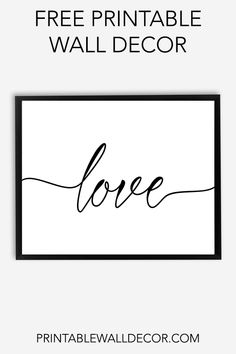 picture about Free Printable Wall Art Black and White known as 30 Simplest Absolutely free Printable Black and White Wall Artwork shots within just