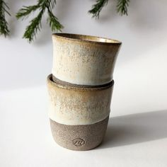 Handmade & Unique Coffee Tumbler, Stoneware, Planter Pots, Vase, Ceramics, Unique Jewelry, Handmade Gifts, Vintage, Home Decor
