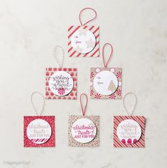 Kathryn's Stampin' World: CASE-ing The Catty This Christmas Tags - #CTC94