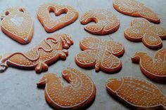 Traditional Croatian gingerbread cookies Paprenjak from the Isle of Hvar, made with Dalmatian dessert wine Prosek