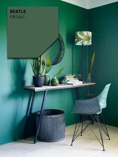 BEATLE FR1461  Årets farge 2019 | Fargerike | Malorama Cozy Room, Beatles, Office Desk, Corner Desk, Colour, Furniture, Home Decor, Corner Table, Color