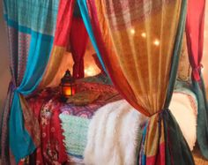 Moroccan Bed Canopy give your bedroom a moroccan twist, with a canopy bed and add to