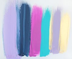 Colors 57 - an original painting by Jen Ramos at Cocoa & Hearts (pinning for color palette)