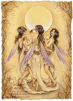 Dance of the graces by Selina Fenech Fairies or Angels?  You decide :) Aline