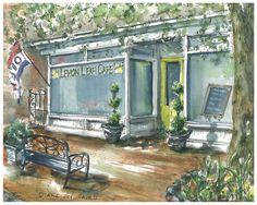 Paintings and Prints - Simple Joys LLC Lemon Leaves, Watercolor Paintings, Meal, Rustic, Spaces, Simple, Prints, Art, Country Primitive