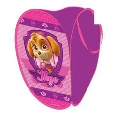Paw Patrol Pink Skye Pop Up Laundry Toy Basket  £6.99