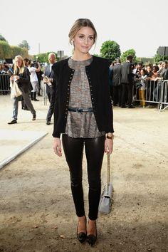 THE OLIVIA PALERMO LOOKBOOK: Paris Fashion Week : Olivia Palermo at Elie Saab