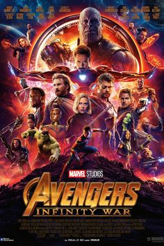THE AVENGERS INFINITY WARS MOVIE POSTER - CULTURE POSTERS 20% OFF