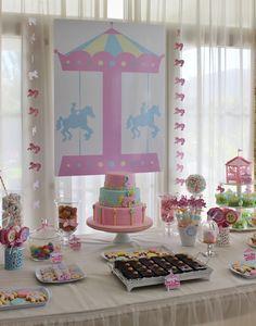 Carousel Birthday Party Ideas   Photo 1 of 15