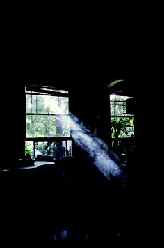 Light does something for the soul. Through The Window, Through The Looking Glass, Foto Art, Dark Photography, Chiaroscuro, Pilgrimage, Light And Shadow, Photoshop, Black Backgrounds