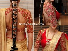 Maggam Work Saree Blouse