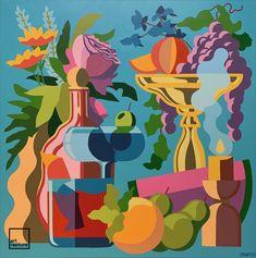 Acrylic on canvas. Hand signed by artist. Size: x Year: 2020 Artist: Jantzi, Sean (Sold) Dutch Still Life, Contemporary Art, Original Paintings, Fine Art, Canvas, Artist, Imagination, Tela, Contemporary Artwork