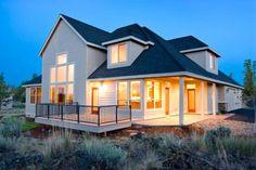 Nueva casa de madera tipo canadiense
