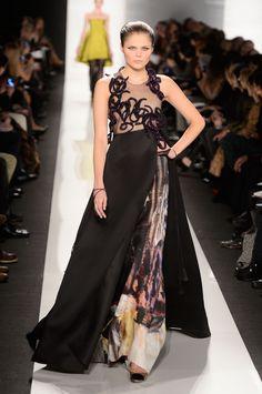 Ralph Rucci Fall 2013 fashion show during Mercedes-Benz Fashion Week
